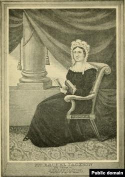 Рейчел Джексон, жена президента США Эндрю Джексона. Автор Альфред Генри Льюис, 1907