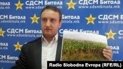 Александар Кирацовски, потпретседател на СДСМ.