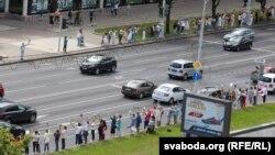 Протести в Білорусі тривають четвертий день