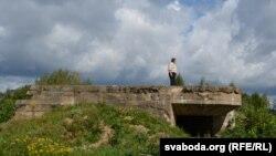 Манумэнтальны дот на ўскраіне Смаргоні