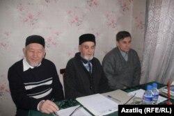 Айдар Хәлим (с), Гамил Камалетдинов (уртада), Фәрит Зәкиев