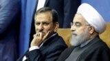 Iranian President and Hassan Rohani (R), with vice-president Eshaq Jahangiri. File photo
