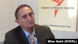Pavle Petrović u studiju RSE