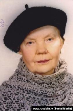 Мария Ивановна Булгакова (ур. Замниборщ; род. 1924), г.Рига.