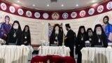 Вселенський патріарх Варфоломій (посередині) та лідери світових православних церков на Всеправославному соборі (архівне фото)
