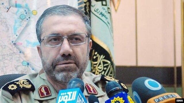 حسین ذوالفقاری فرمانده پلیس مرزبانی ایران.