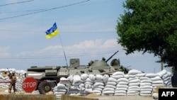 Украинские военные близ Одессы.