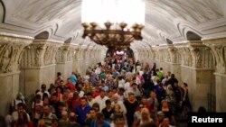 В московском метро
