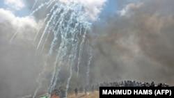 Газа тилкесиндеги кагылыштар.