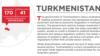 Türkmenistan ykdysady azatlyk boýunça 'iň repressiw' ýurtlaryň biri