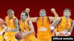 Кошаркарската репрезентација на Македонија
