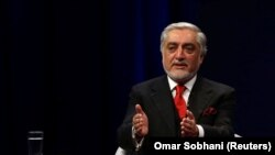Afghanistan's former Chief Executive Abdullah Abdullah (file photo)