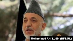 Прэзыдэнт Аўганістану Гамід Карзай