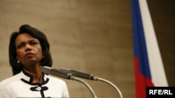 U.S. Secretary of State Condoleezza Rice in Prague