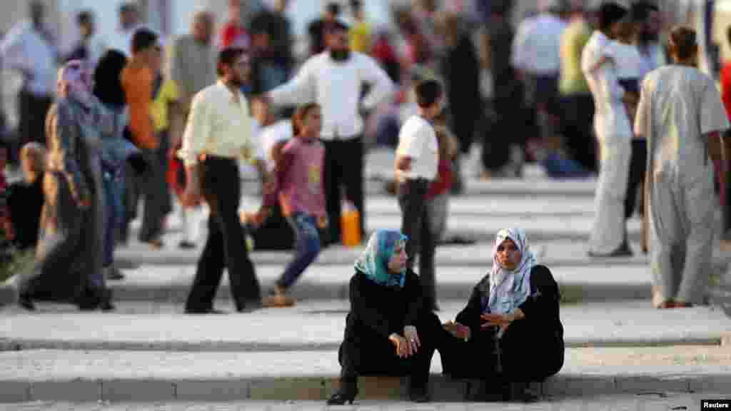 Турция. Лагерь сирийских беженцев