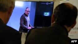 Mihail Hodorkovski la sediul mișcării Rusia deschisă în 2015