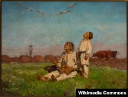 Юзэф Хэлмоньскі, «Буслы» (1900)