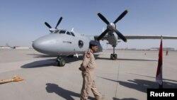 في احدى القواعد الجوية العراقية(من الارشيف)