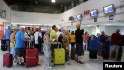 Архивска фотографија: Аеродромот во Крит