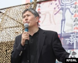 Atambaev's political star rose again in 2010 when popular protests helped oust former President Kurmanbek Bakiev.