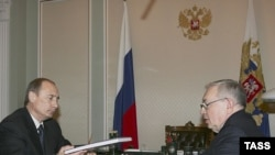 Владимир Путин выслушал доклад Владимира Лукина о ситуации с правами человека в России
