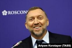Aluminum magnate Oleg Deripaska