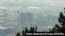 Цементарница УСЈЕ во Скопје има дозвола да увезува алтернативни горива од отпад, кои ги употребува во процесот за производство на цемент.