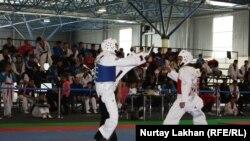 Таэквондо WTF олимпиадалык спорттун түрүнө кирет.