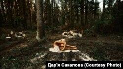 Чаму аголеныя дзяўчаты з Магілеву выклікалі ажыятаж у сацсетках
