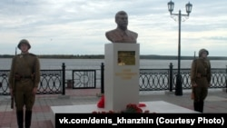 There are about 20 monuments honoring Stalin across Russia.