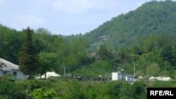 რუსეთის სამხედრო ბაზა გალისა და ზუგდიდის რაიონის ადმინისტრაციულ საზღვარზე
