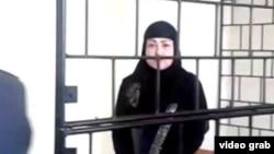 Муаттара Джураева в зале суда, март 2015 года