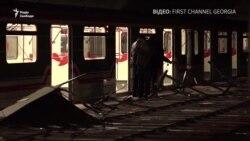Грузія: кількість постраждалих через обвал стелі в метро Тбілісі зросла до 14 (відео)