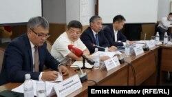 Экономика жана финансы министрлигиндеги жыйын. 12-август, 2021-жыл.