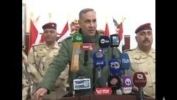 الانبار: وزير الدفاع يؤكد على اهمية مسك الارض