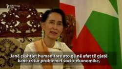Suu Kyi: Kriza me myslimanët s'mund të zgjidhet brenda natës