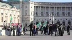 Нохчийн протест. Вена. 24.12.15