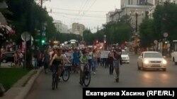 Протест против ареста губернатора в Хабаровске, 16 июля