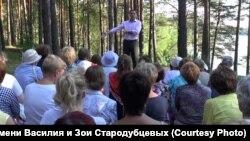 Прогулки с онкологом в Железногорске. 2012 г.