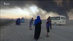 Mosulda yanğın, yüzlərlə xəsarət alan var