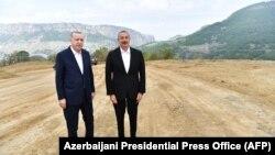 Реджеп Тайип Эрдоган и Ильхам Алиев в Шуше