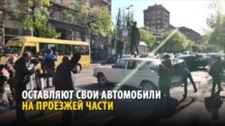 Массовые протесты в Армении: люди вышли на улицы из-за того, что экс-президент хочет остаться во власти