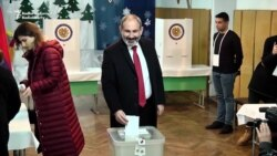 Armenian Leaders Vote In Snap Elections