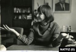 Надежда Сейкова като ректор на ВИТИЗ