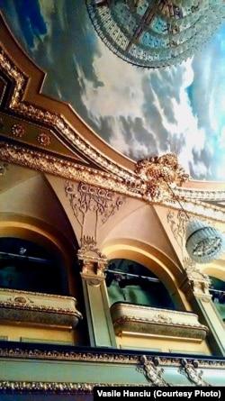 Sala Teatrului din Gera, cca 1900