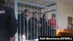 Михаил Фельдман, Дмитрий Фонарев и Олег Саввин в суде