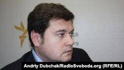 Валерій Бондик у студії Радіо Свобода