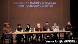 Sa tribine o Srebrenici