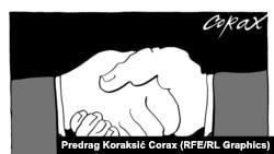 Karikature Predraga Koraksića Coraxa