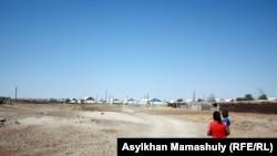 Село, рядом с которым упала ракета